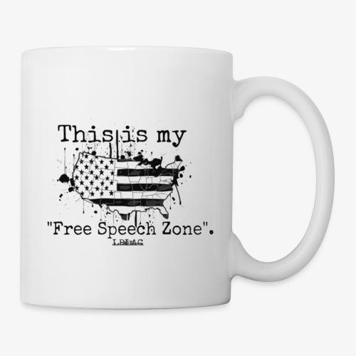 Free Speech Zone - Coffee/Tea Mug