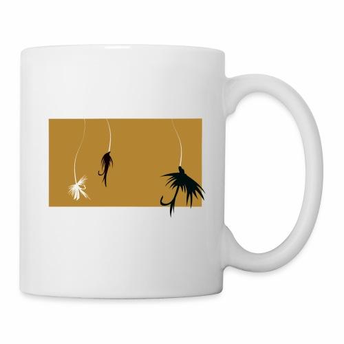 Fishing Shirt Flies - Coffee/Tea Mug