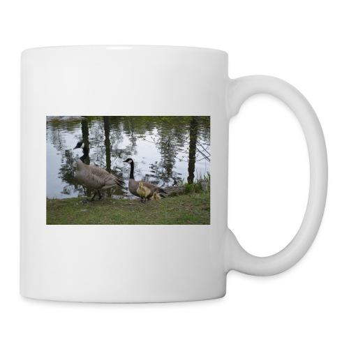 Geese w/ young - Coffee/Tea Mug