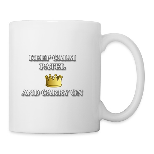 Keep calm Patel and carry on - Coffee/Tea Mug