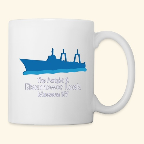 Eisenhower Lock Blue - Coffee/Tea Mug