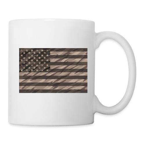 desert cammo flag t - Coffee/Tea Mug