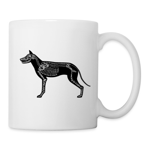 Skeleton Dog - Coffee/Tea Mug