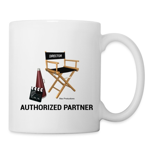Mac Productions Authorized Partner Logo - Coffee/Tea Mug