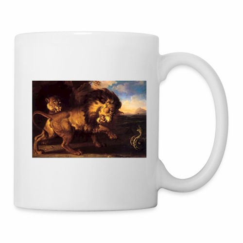 lions and snake sp 01 - Coffee/Tea Mug