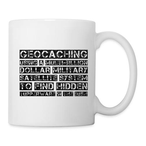 Geocaching Camo Satellite - Coffee/Tea Mug
