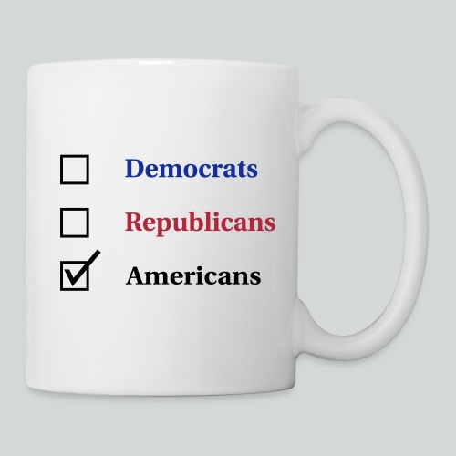 Election Ballot - Americans - Coffee/Tea Mug