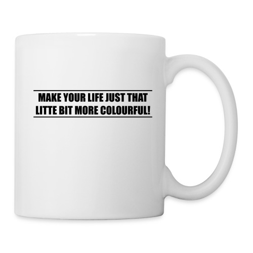 slogan - Coffee/Tea Mug