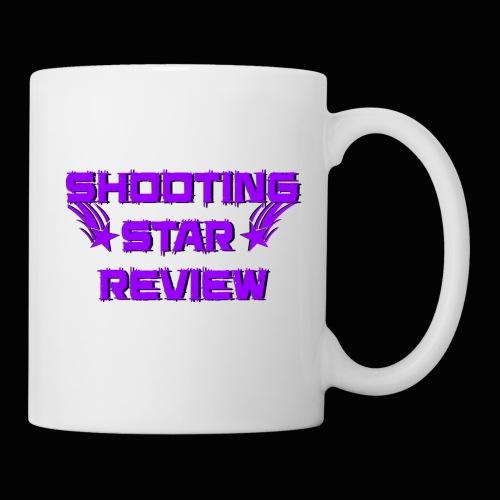 Shooting Star Review Purple Logo - Coffee/Tea Mug