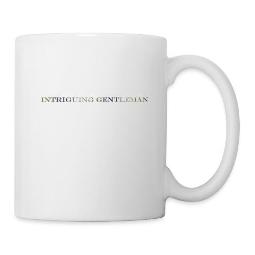 Intriguing Gentleman Tee - Coffee/Tea Mug