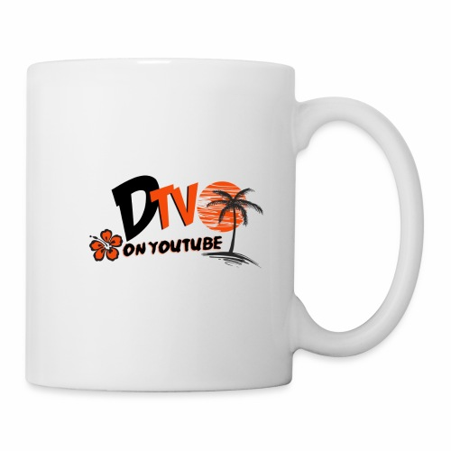 DTV VLOG Title California Logo on youtube - Coffee/Tea Mug