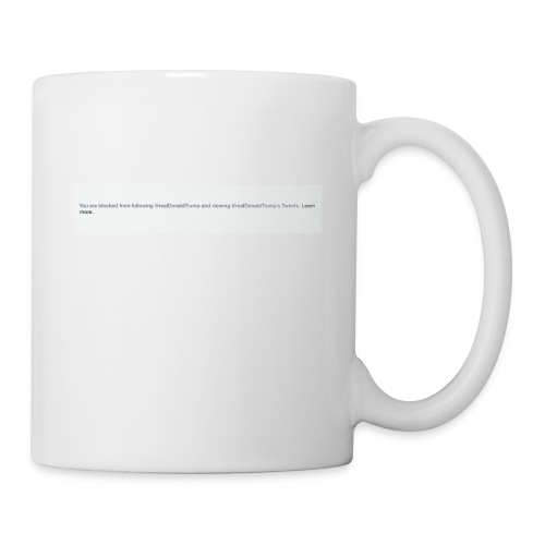 Blocked by Donald Trump on Twitter - Coffee/Tea Mug