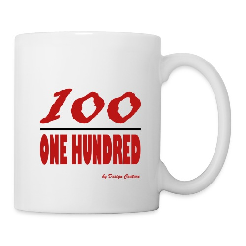 ONE HUNDRED RED - Coffee/Tea Mug