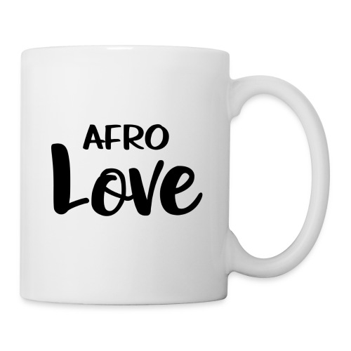 Afro Love Natural Hair TShirt - Coffee/Tea Mug