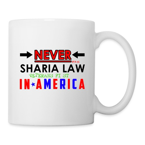Never Sharia Law - Coffee/Tea Mug