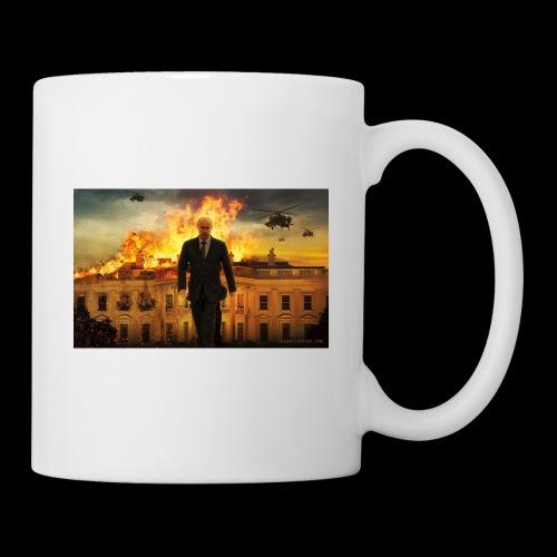 putin destroys white house - Coffee/Tea Mug