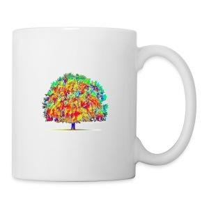 colorful tree - Coffee/Tea Mug