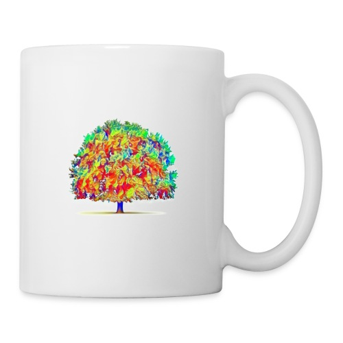 colorful tree - Coffee/Tea Mug