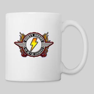 Dirty Deeds Flame Emblem - Coffee/Tea Mug