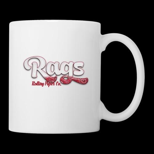 RAGSROLLINGLOGORED - Coffee/Tea Mug