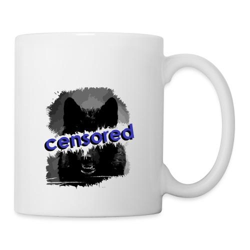 Wolf censored - Coffee/Tea Mug