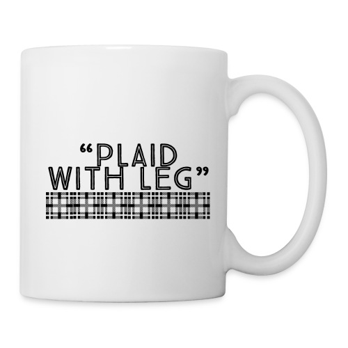 Plaid With Leg - Coffee/Tea Mug