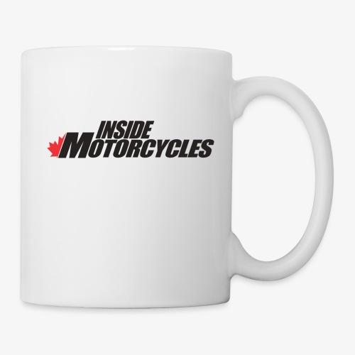 Inside Motorcycles Logo - Black - Coffee/Tea Mug