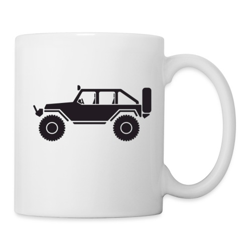 Off Road 4x4 Silhouette - Coffee/Tea Mug