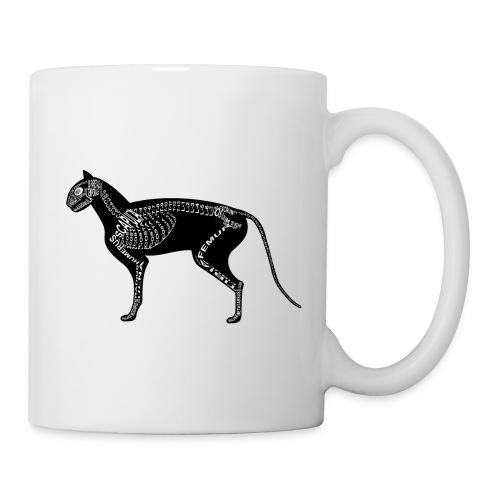 Skeleton Cat - Coffee/Tea Mug