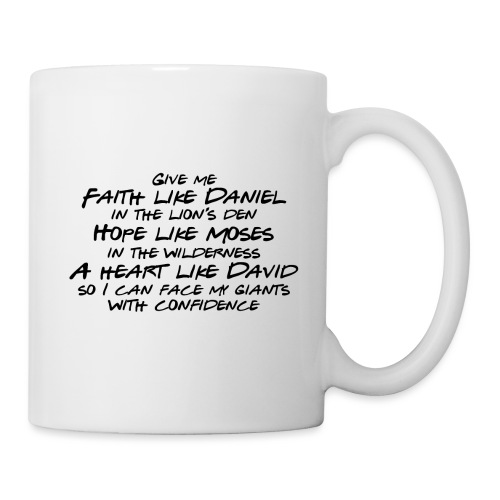 Face Your Giants with Confidence - Coffee/Tea Mug