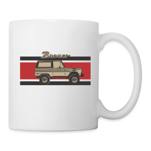 Bronco Truck Billet Design Men's T-Shirt - Coffee/Tea Mug