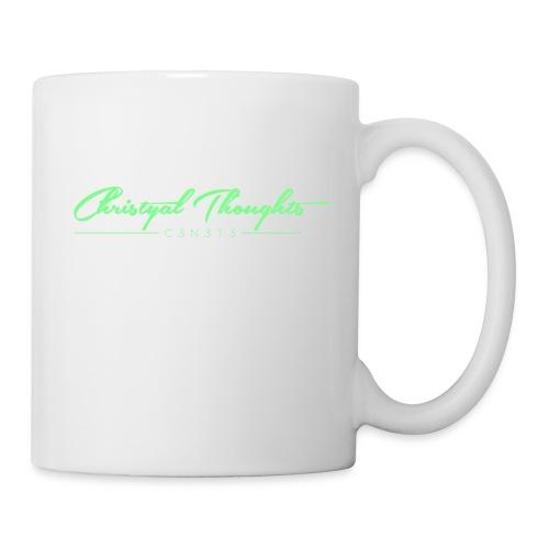 Christyal Thoughts C3N3T31 Lime png - Coffee/Tea Mug