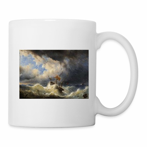 vessel in storm sp 02 - Coffee/Tea Mug
