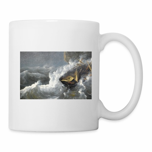 ship in storm sp 01 - Coffee/Tea Mug