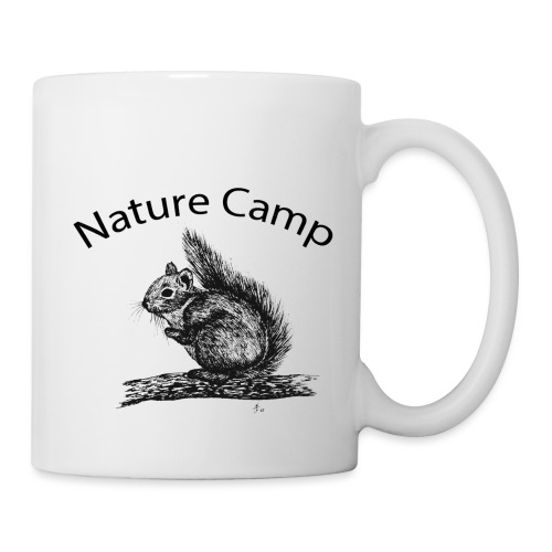 Nature Camp Squirrel - Coffee/Tea Mug