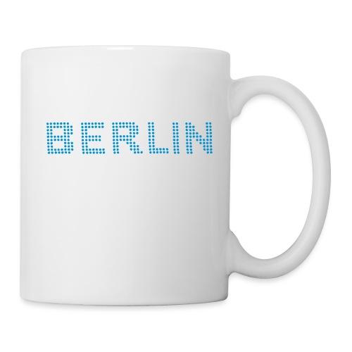 Berlin dots-font - Coffee/Tea Mug