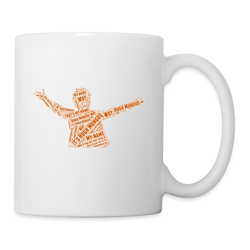 Hugh Mungus Wordcloud - Coffee/Tea Mug