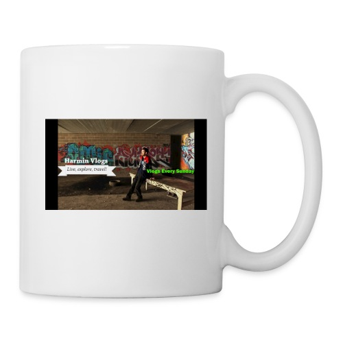 Harmin vlogs banner - Coffee/Tea Mug