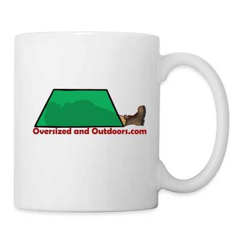 Oversized and Outdoors Logo - Coffee/Tea Mug