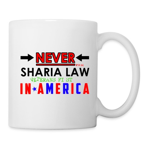 Never Sharia Law - Coffee/Tea Mug