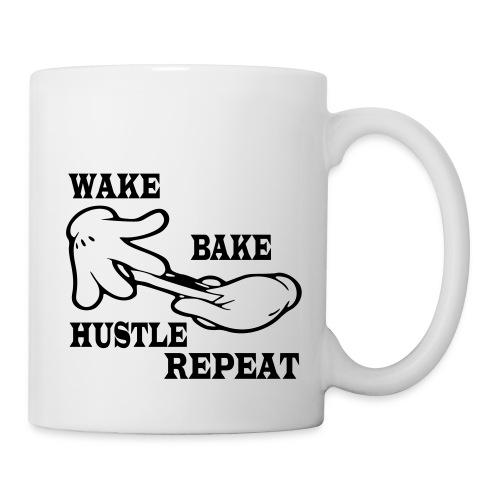 Wake bake hustle repeat - Coffee/Tea Mug