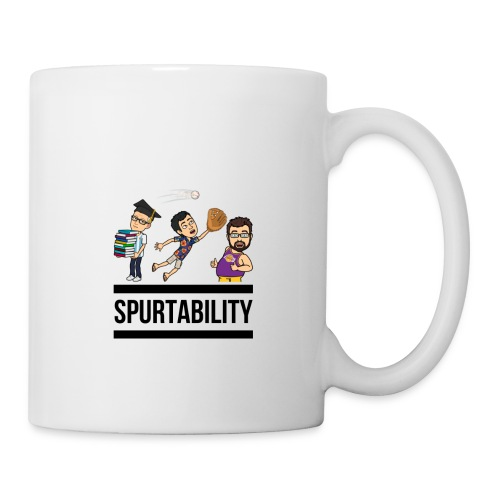Spurtability Black Text - Coffee/Tea Mug