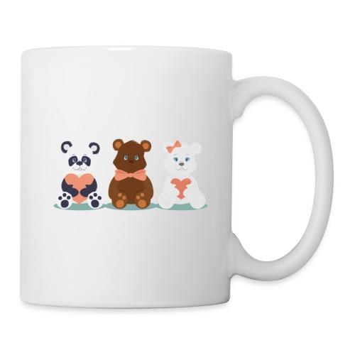 Teddy Friends - Coffee/Tea Mug