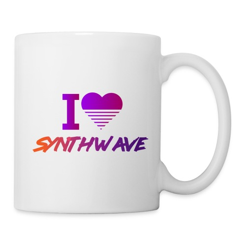 I heart synthwave - Coffee/Tea Mug