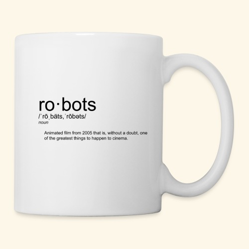 The Definition of Robots - Coffee/Tea Mug