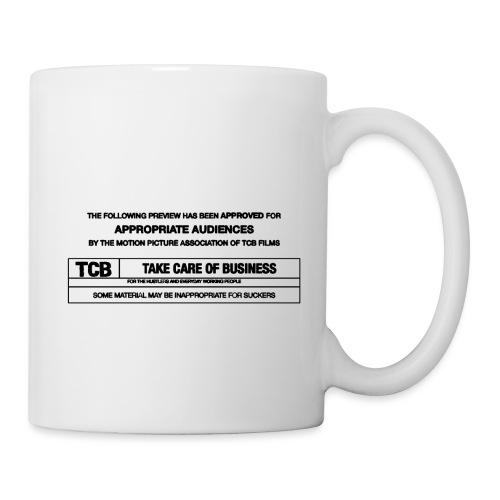 TCB Films Disclamer - Coffee/Tea Mug
