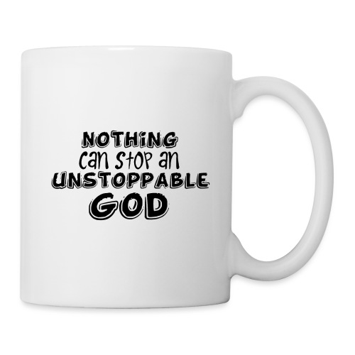 Nothing Can Stop an Unstoppable God - Coffee/Tea Mug