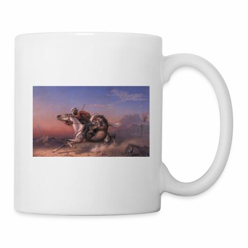 lion attack sp 01 - Coffee/Tea Mug