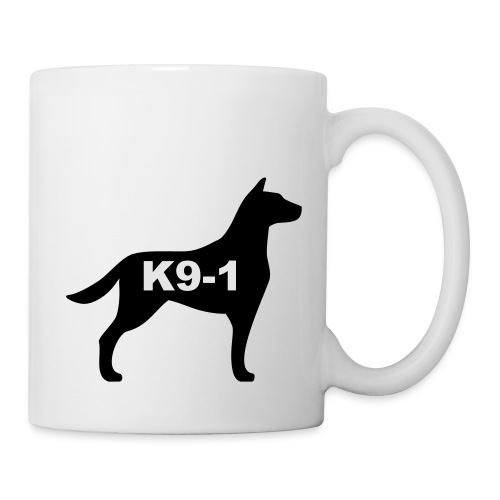 k9-1 Logo Large - Coffee/Tea Mug