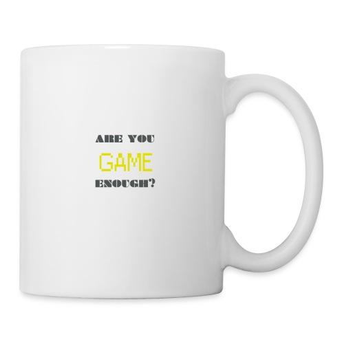 Are_you_game_enough - Coffee/Tea Mug